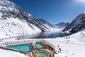 Portillo, Ski Resort, Los Andes of Chile, South America Royalty Free Stock Photo