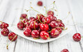 Portion of Cherries Royalty Free Stock Photo