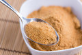Portion of Coconut Sugar Royalty Free Stock Photo
