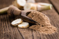 Portion of Galangal Powder Royalty Free Stock Photo