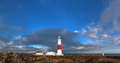 Portland bill lighthouse dorset jurassic coast world heritage site england uk Stock Photos