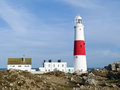 Portland Bill Lighthouse, Dorset, UK Stock Photography
