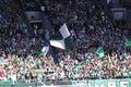 Portland boise la foule de Major League Soccer Photographie stock