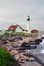 Portland Head Light, Maine Royalty Free Stock Photography