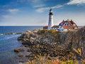Portland Head Lighthouse Royalty Free Stock Photo