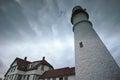 Portland Headlight in Maine Royalty Free Stock Photo