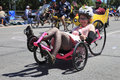 PORTLAND - JUNE 12: ROSE FESTIVAL ANNUAL PARADE. Stock Photography