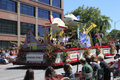 PORTLAND - JUNE 12: ROSE FESTIVAL ANNUAL PARADE. Royalty Free Stock Photography