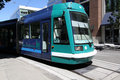 Portland oregon max light rail in Stock Photography