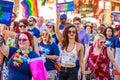 Portland Pride Parade 2018 Royalty Free Stock Photo