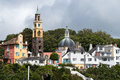 Portmeirion Village 2 Stock Photos