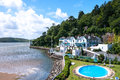Portmeirion Village Stock Image