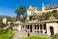 Portmeirion village, North Wales Royalty Free Stock Photo