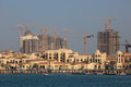 Porto Arabia. The Pearl, Doha Stock Images