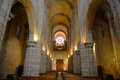 Porto cathedral porto portugal nave of portuguese sé do this is located at the center of and is one of the citys Royalty Free Stock Image