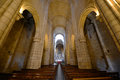 Porto cathedral porto portugal nave of portuguese sé do this is located at the center of and is one of the citys Royalty Free Stock Photos