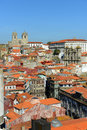 Porto cathedral porto portugal the portuguese sé do overlook the old city this is one of the citys oldest Stock Images