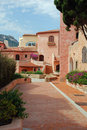 Porto Cervo. Residential Area Royalty Free Stock Photography