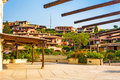 Porto cervo sardinia houses in mediterranean style Royalty Free Stock Photography