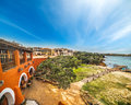 Porto Cervo in the springtime Royalty Free Stock Photo