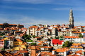 Porto cityscape with Clerigos tower, Porto, Portugal Royalty Free Stock Photography