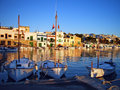 Porto Colom Quay Royalty Free Stock Photo