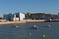 Porto de margate e turner contemporary gallery Fotografia de Stock