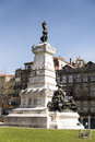 Porto henry infante dom henrique the navigator monument portugal Royalty Free Stock Image
