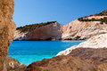Porto katsiki beach at lefkada island greece Royalty Free Stock Photography