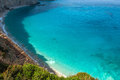 Porto katsiki beach at lefkada island greece photo taken in Royalty Free Stock Image
