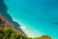 Porto katsiki lefkada greece photo taken in Royalty Free Stock Photos