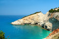 Porto Katsiki in Lefkada island Greece Stock Photo