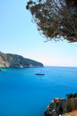Porto Katsiki in Lefkada island Greece Royalty Free Stock Images