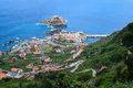 Porto moniz madeira island north of portugal Stock Photos