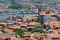 Porto old city aerial view portugal center and igreja de nossa senhora da vitória from clerigos tower portuguese torre dos Royalty Free Stock Photography