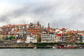 Porto old town portugal douro river and Stock Photo