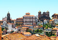 Porto old town view portugal Royalty Free Stock Photo