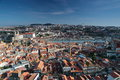 View from the tower of the city Porto Portugal