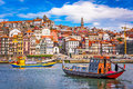 Porto, Portugal Skyline Royalty Free Stock Photo