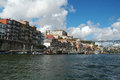 Porto Ribeira Buildings Royalty Free Stock Image