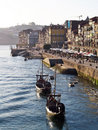 Porto riverside view 2 Royalty Free Stock Photo