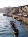 Porto riverside view 2 Royalty Free Stock Photo