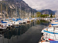 Porto San Nicolo Lake Garda Italy Royalty Free Stock Images
