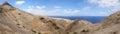 Porto Santo geology Royalty Free Stock Photo