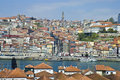 Porto skyline from Vilanova de Gaia, Portugal Royalty Free Stock Photo