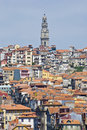 Porto skyline from Vilanova de Gaia, Portugal Stock Photography