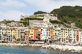 Porto venere view port on a summer day Royalty Free Stock Photos