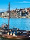 Porto wine. Portugal Royalty Free Stock Photo