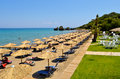 Porto zoro beach on zakynthos island a greek of in ionian sea Stock Photography