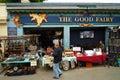 Portobello road flee market Royalty Free Stock Photo